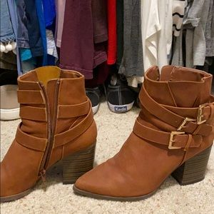 Worn once! Ankle boots